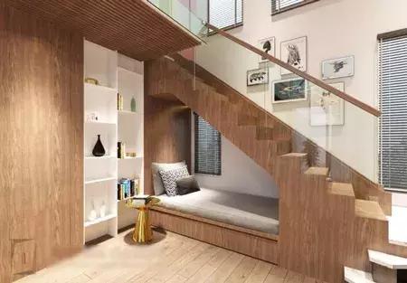 20种装饰楼梯下方空间的方法,个个都好看_装修达人