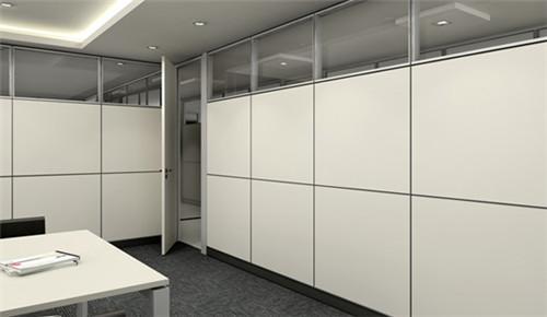 2018最新办公室隔断效果图 办公装饰设计案例