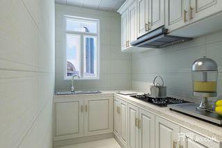 75平小户型二居开放式厨房装修