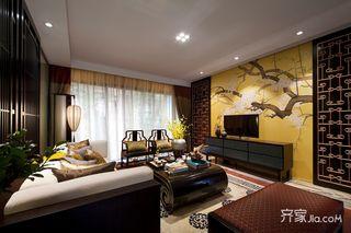 新中式风格两居室装修效果图