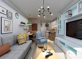 小户型北欧一居室装修效果图