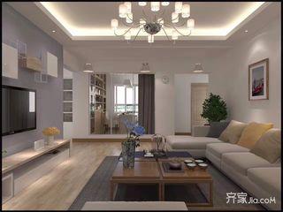 115平简约三居室装修效果图
