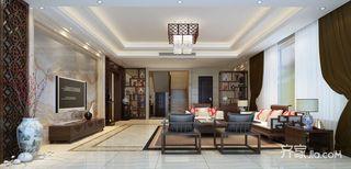 大户型中式风格别墅装修效果图