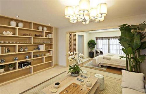 客厅展示柜如何设计好看 展示柜哪种材质好图片