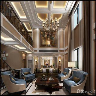 320平奢华欧式别墅装修效果图