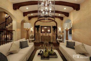 144平美式风格别墅装修效果图