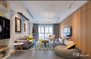 三居室简约风格装修设计图