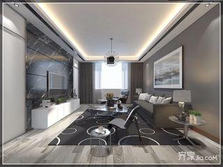 140㎡现代三居室装修效果图