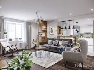 两居室宜家风格装修效果图