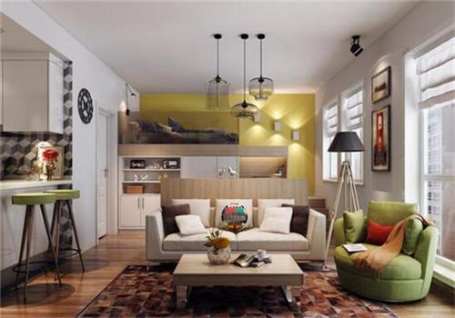 单身公寓装修设计效果图2018 单身公寓适合什么风格