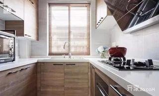 90㎡北欧风格家厨房构造图
