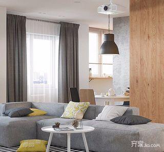 三居室简约之家 活力与时尚
