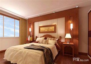 160平中式装修设计卧室效果图