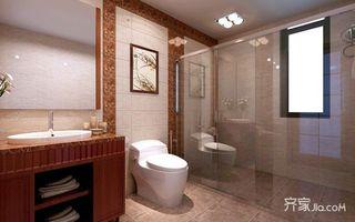 中式别墅装修卫生间设计图
