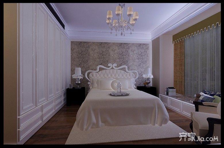古典欧式风格装修卧室效果图