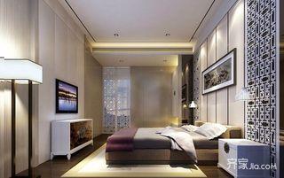 新中式装修卧室效果图