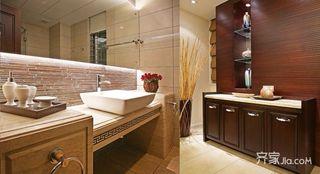 188平中式风格装修卫生间设计图