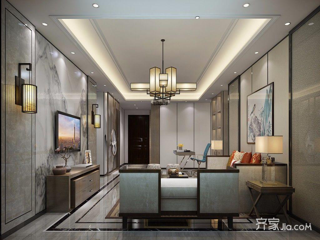 120平新中式之家 时尚大气