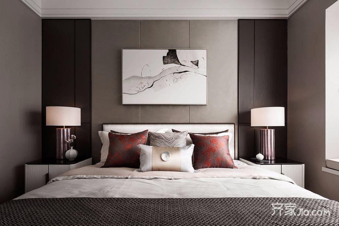160平古典之家卧室设计图