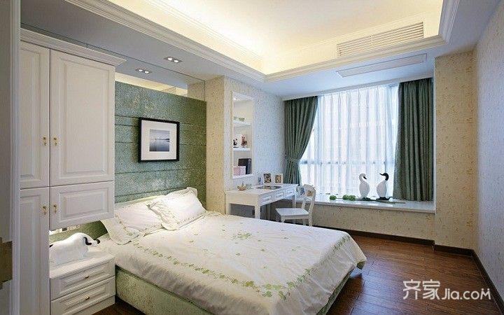 110㎡欧式风格装修卧室效果图