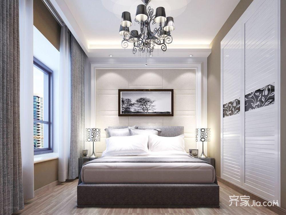 大户型欧式风格家卧室效果图
