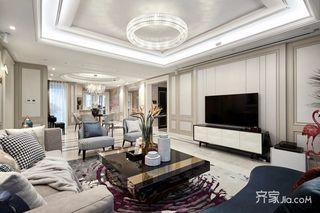 三居室现代简约家 低调奢华