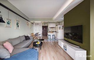 三居室简约风格装修效果图