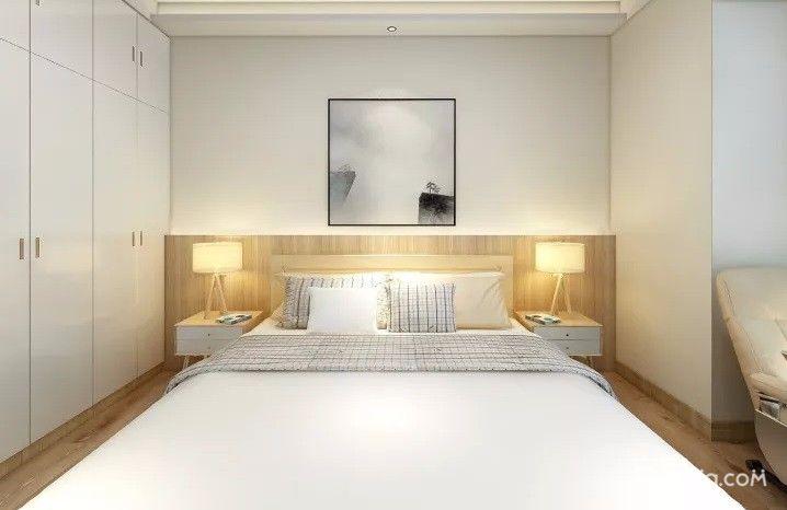 150平简约风格装修卧室效果图