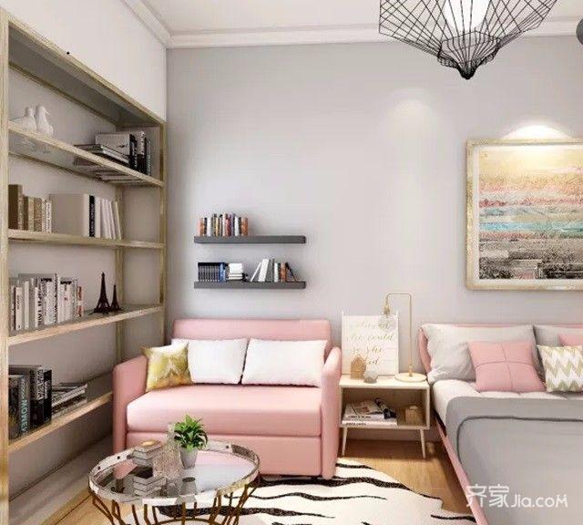 50平小户型设计卧室效果图