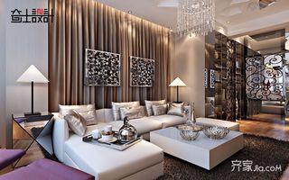 120平现代奢华风装修沙发图片