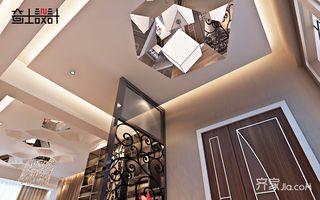 120平现代奢华风装修门厅