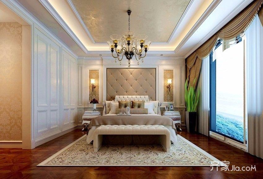 奢华欧式风格装修卧室效果图