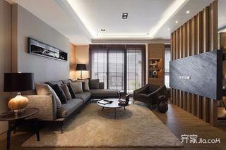 120平简约风之家卧室效果图