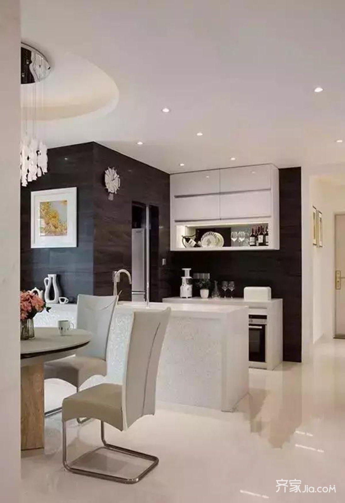 10万搞定的二居室装修厨房设计图