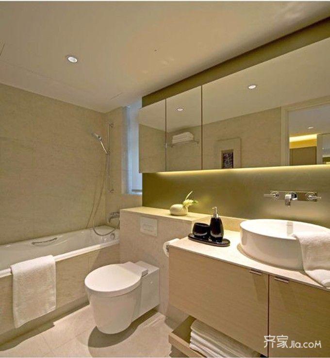 100平中式风格家卫生间装潢图