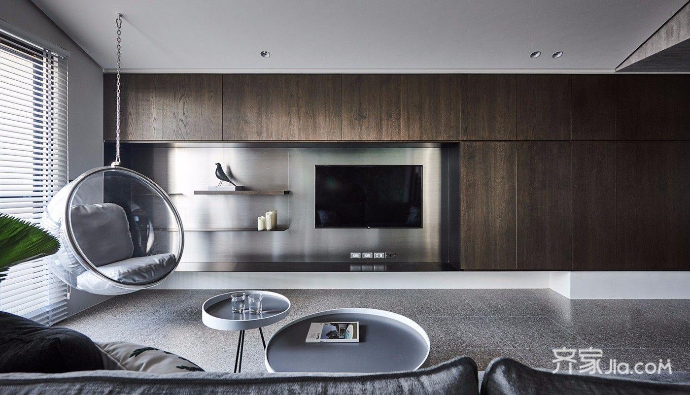125平美式三居室装修 用心搭配每一处