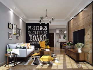 二居室北欧风格小家 清新温暖