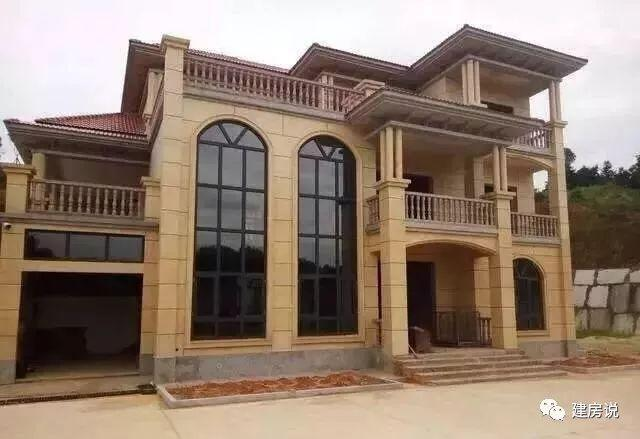 实拍别墅就是28栋,看到别墅赚到洛阳市轻钢农村图片