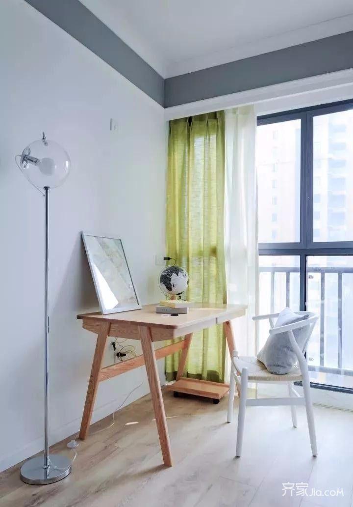 0万93平米混搭三居室装修效果图,93平北欧混搭装修图图片