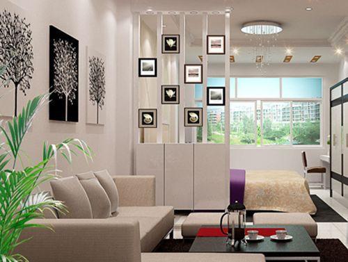 那么,客厅如何变成卧室呢?图片