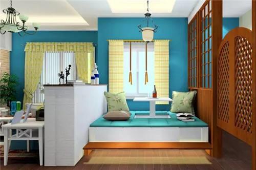 4,客厅装修成卧室的方法----壁床可以让客厅变卧室图片