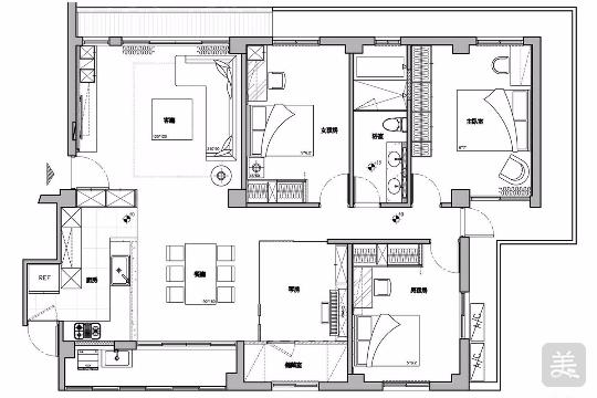 脏乱老屋变身新中式别墅,只因设计师做了这件事