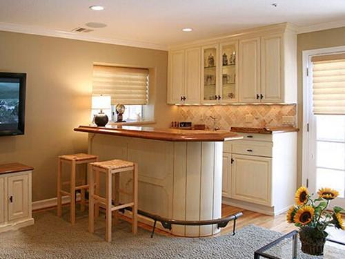 家庭吧台装修效果图 带你感受充满情调的创意空间