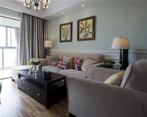 美式客厅装修效果图大全 唯美浪漫的美式客厅装修案例