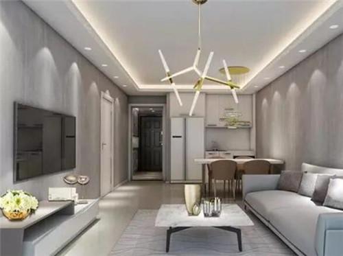95平方房子装修效果图 简洁不失大气的95平两居室