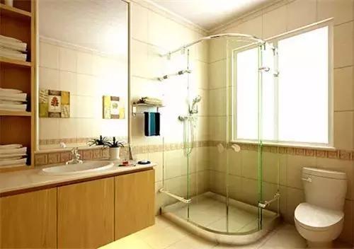 卫生间装修效果图 小户型卫生间装修案例