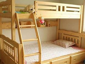 儿童高低床尺寸有多大 选择高低床诀窍