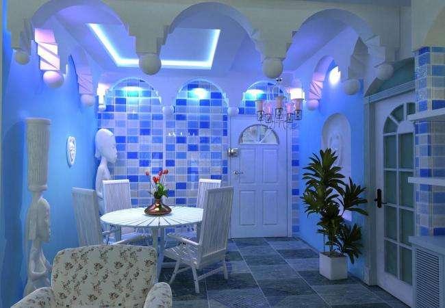 说起地中海餐厅,你们会想到哪种设计?
