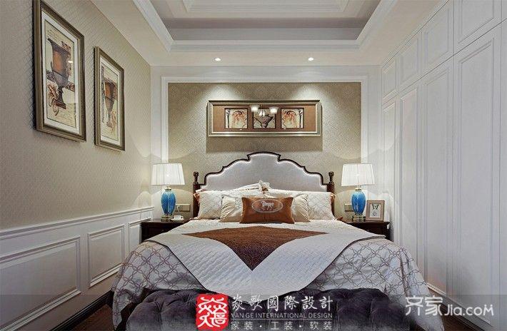 公主房,以蓝色,香草绿为主,体现出轻盈浪漫和对未来生活的憧憬.图片