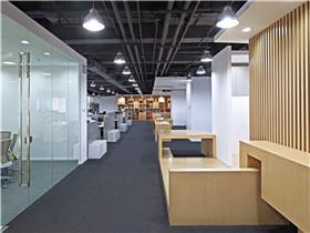 公司装修五大设计原则  现代化的办公室装修